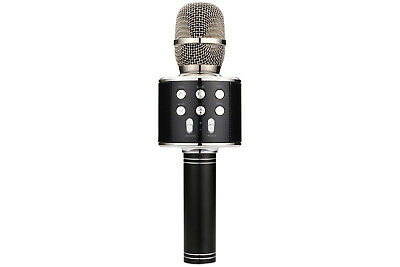 QTX Karaoke Party Mic - Black NEW