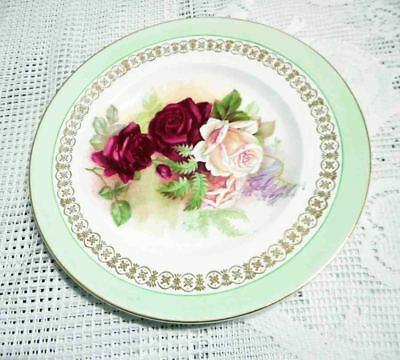 CLARICE CLIFF MADE IN ENGLAND FLOWER PLATE EXCELLENT 1930s