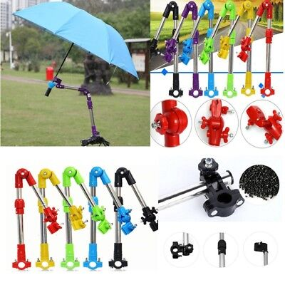 Bike Bicycle Wheelchair Stroller Chair Umbrella Connector Holder Mount Stand US