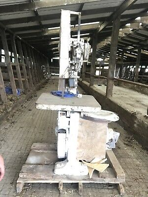 Large Band Saw 240 Volt Very Heavy Duty Saw With Spare Blades Floor Standing