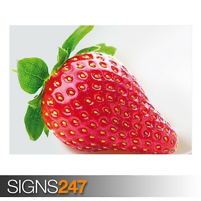 STRAWBERRY Photo Picture Poster Print Art A0 A1 A2 A3 A4 AE237