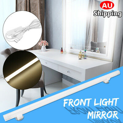 Portable USB LED White Makeup Vanity Mirror Light Cosmetic Dressing Strip Lamp