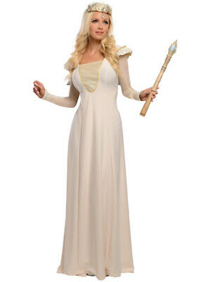 Deluxe Womens Oz Great Powerful Glinda Good Witch Princess Costume