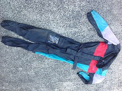 Dri-rider motorcycle wet weather suit size large -used condition