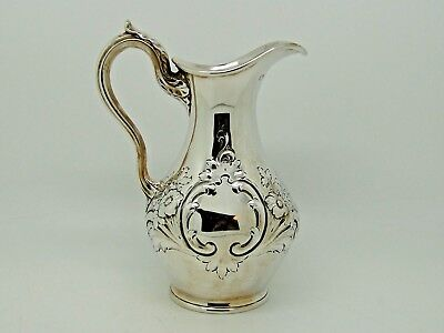 Antique Victorian Silver Jug London 1879 – Goldsmiths Alliance Ltd 228g