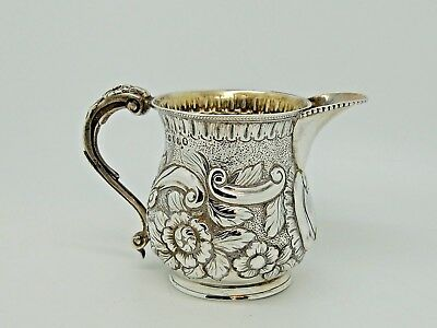 Antique Georgian Silver Jug London 1818 – I.B QUALITY George III 138g