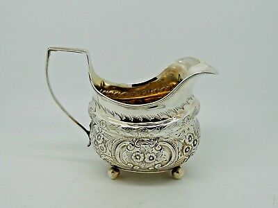 Antique Georgian Silver Jug London 1808 – George III QUALITY