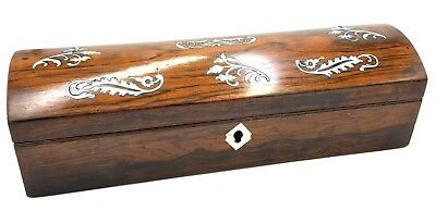 Regency Rosewood and Mother of Pearl Glove box
