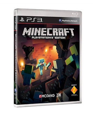 Minecraft PlayStation Edition (PS3) - MINT -1st Class Super FAST & FREE Delivery