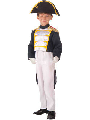 Child Civil War Colonial General Boy Costume