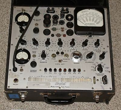 Excellent calibrated hickok 539c tube tester