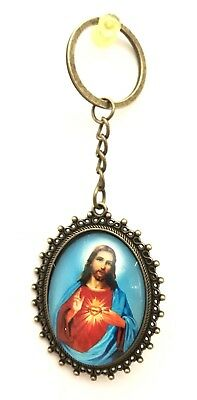 Catholic Keychain Jesus Keyring Keychain Car Ring Great For Christmas Gift