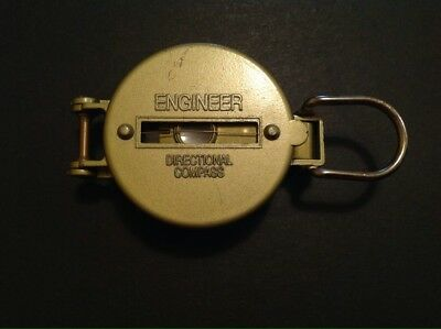 Vintage Engineer Directional Compass