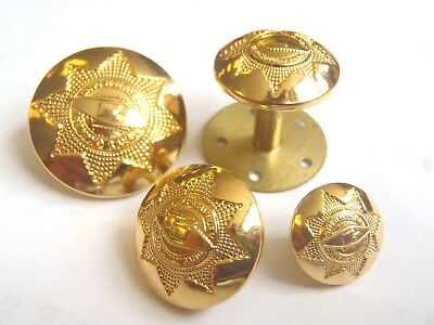 Heavy Cavalry And Cambrai Band - Gold Buttons - Various - British Army -