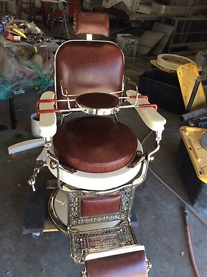 Restore your Vintage Koken, Kochs, Paidar and other Barber or Dentist Chair