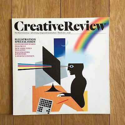 Creative Review March 2012 Magazine Illustration Special