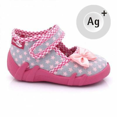 Baby Toddler Girls Canvas Shoes Kids Sandals #3 (UK / EU All Sizes)
