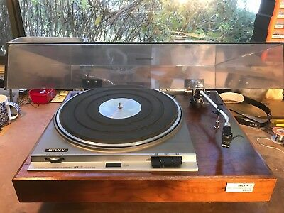 Sony Ps-2410 Servo Controlled Record Player, Very Rare Incredible Condition