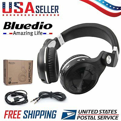 Bluedio T2 Bluetooth 4.1 Headphone Wireless Stereo Microphone Foldable Headset