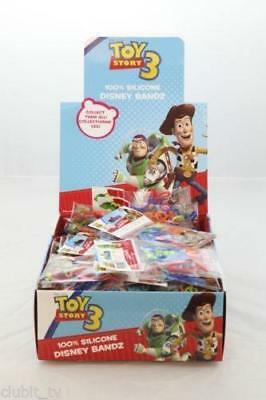 Disney Pixar Toy Story 3 Kids Fun Wristbands Silicone Bands Box Party Xmas Gift