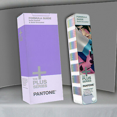 Pantone  - -  GP1601N  - -  FORMULA Guide UNCOATED - - Book as pictured - Sealed