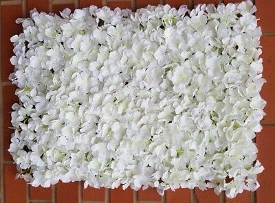 UK SELLER~ Artificial flower wall Wedding venue decoration backdrop panel Cream