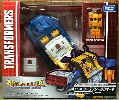 Takara TOMY Transformers Legends LG 64 Seaspray and Lione