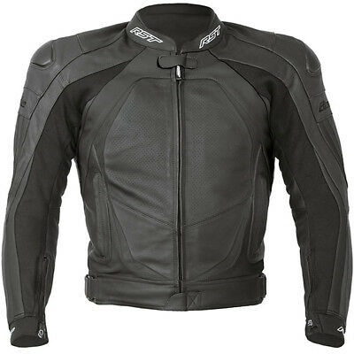 RST Blade II Leather Jacket - Black - 46 - Was £249.99 now £149.99