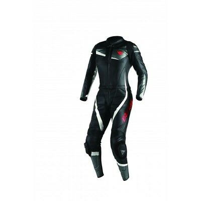 Dainese Veloster Ladies 2 piece Leather suit - Blk/Ant/Whi - UK20 - WAS £729.95