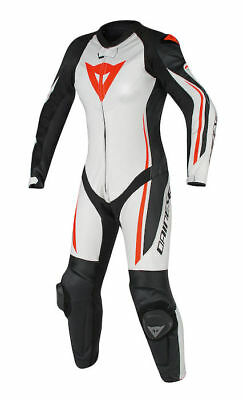 Dainese Assen 1pce Ladies suit - Size EU40/UK10 - Whi/Blk/F.Red - WAS £699.95