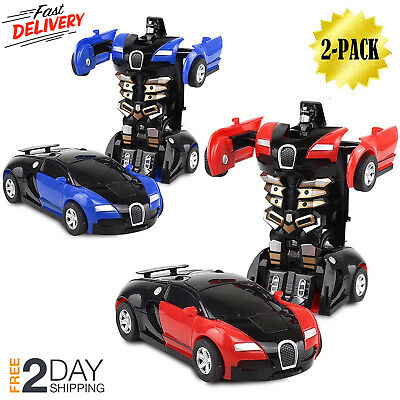 Toys For Boys Robot Car Kids Toddler Robot 3 4 5 6 7 8 9 Year Old Age Cool Toy