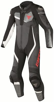Dainese Veloster 1 pce Leather Suit - Blk/Ant/White - 58 - WAS £749.95