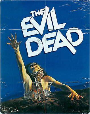 The Evil Dead - Limited Edition Steelbook [Blu-ray] New and Sealed!!