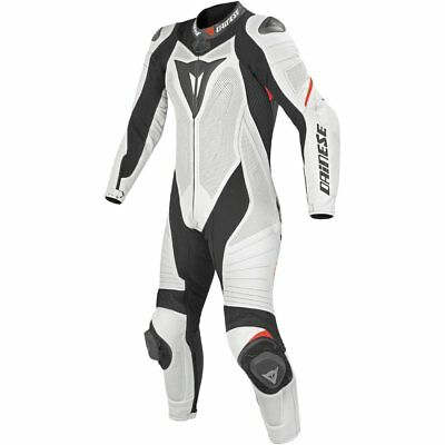 Dainese Laguna Seca Evo Lady 1 pce Suit-Whi/Blk/F.Red - UK20 - WAS £899.95