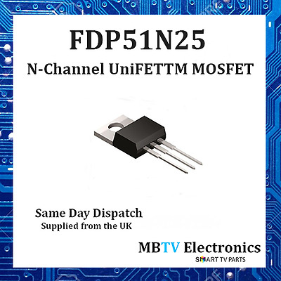 """FAIRCHILD FDP038AN06A0/""""N/"""" CHANNEL POWER TRENCH MOSFET 60V 80A  QTY = 1"""