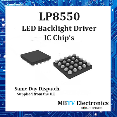LP8550 HIGH EFFICENCY Backlight LED Driver IC - Macbook & Notebook's - 1 / 2 / 5
