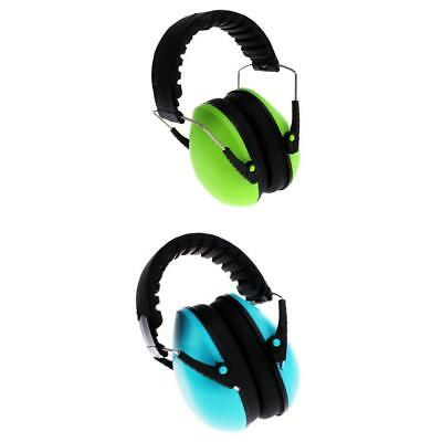 2Pcs Protection Ear Muffs Kids Safety Ear Defenders Shooting Noise Reduction