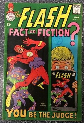 The Flash #179 (1968) Silver Age Issue