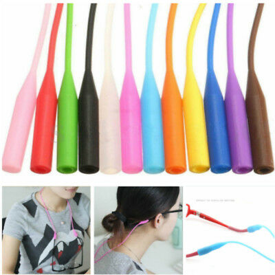 53cm Silicone Glasses Chain Strap Cord Holder Neck Lanyard for Reading Keeper