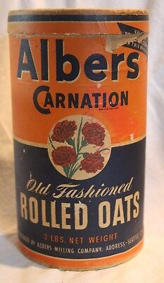 Albers Oats Box Container    Seattle