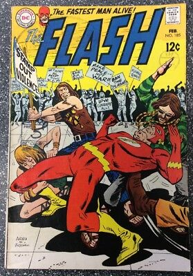 Flash #185 (1968) Silver Age Issue