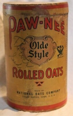 Paw-Nee Oats Box Container