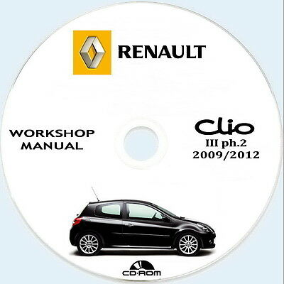 Renault CLIO III ph.2 (X85) workshop manual,manuale officina.