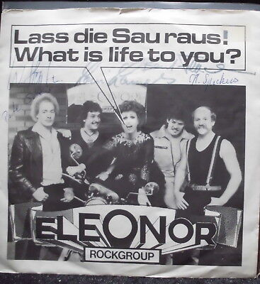 "Eleonor Rockgroup: Lass die Sau raus ! 7"" Single Privatpressung"
