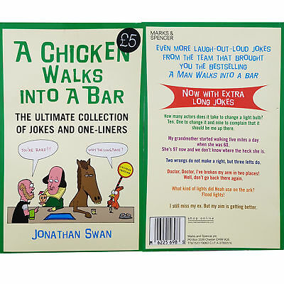 New Joke Book Funniest Hilarious Chicken Bar and Biggest Ever One Line Liners