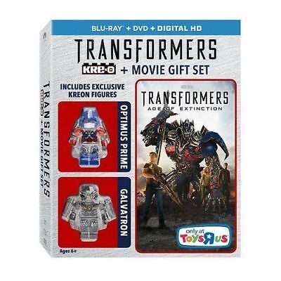 Transformers: Age of Extinction (Blu-ray/DVD/Digital HD) + Movie Gift Set *NEW*