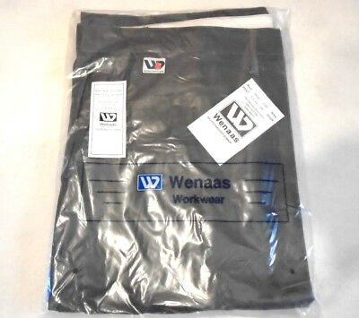 WENAAS Anti-flame FR Fire Resistant Gray Work Pants Mens Size 60 Unhemmed NWT's