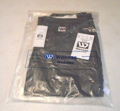 WENAAS Anti-flame FR Fire Resistant Gray Work Pants Mens Size 29 Unhemmed NWT's