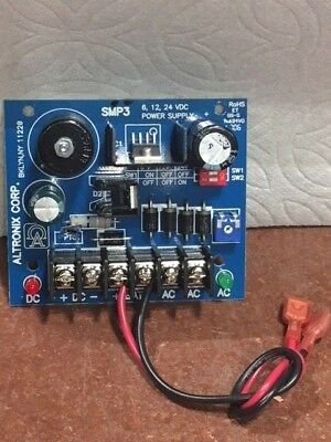 Altronix SMP3 Power Supply/Charger Board NEW!