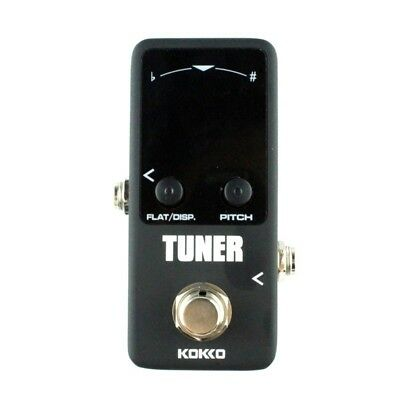 KOKKO Guitar Mini Effects Pedal Tuner - Chromatic Tuner Pedal High Definiti P8W8